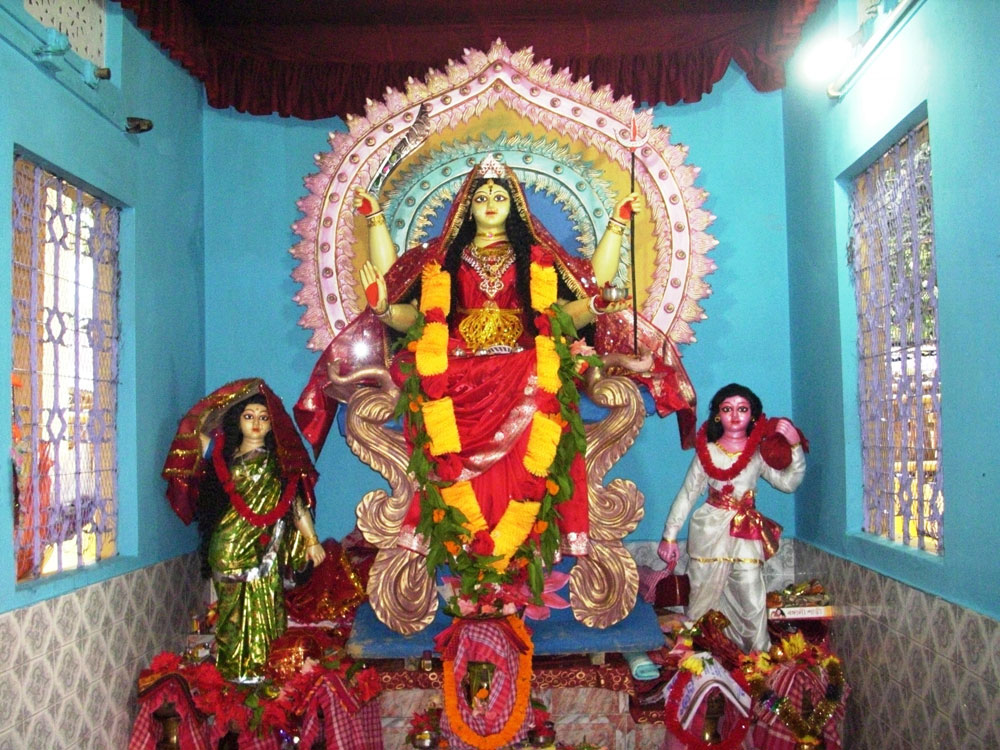 Santoshi Maa Festival at Mariani, Jorhat, Assam on 10th June, 2011